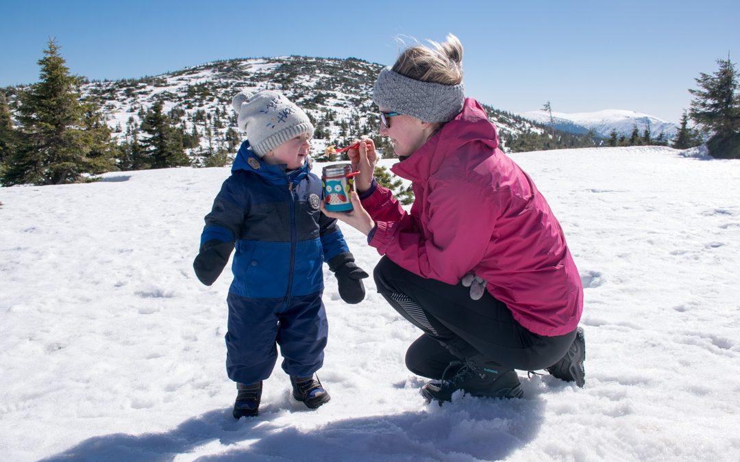 Jídlo a cestování s dětmi